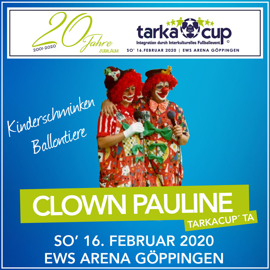 TarkaCup 2020 Clown Pauline